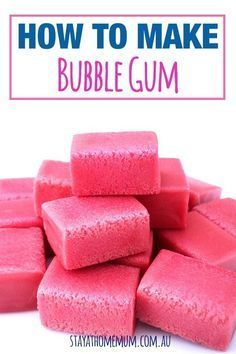 to Make Bubble Gum Now this isn't just a recipe, it's a science experiment! How cool is that! Here's how to make Bubble Gum!Now this isn't just a recipe, it's a science experiment! How cool is that! Here's how to make Bubble Gum! Science Experiments Kids, Science For Kids, Summer Science, Fun Science Fair Projects, Science Fun, Preschool Science, Elementary Science, Preschool Cooking Activities, Expirements For Kids
