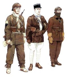 Ww2 Uniforms, Military Uniforms, French Armed Forces, French Foreign Legion, French Army, Military Diorama, Military History, World War Two, Wwii