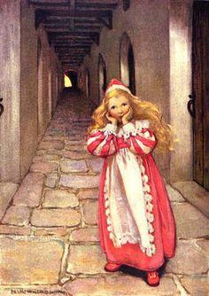 Frightened Princess    Jessie Wilcox Smith