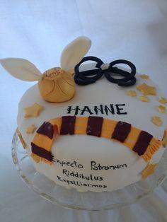 Hanne's birthdaycake  #harrypotter #harrypottercake