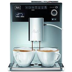 Melitta Caffeo CI Kaffeevollautomat E 970-306 silver by MelittaFür echte Kaffeegourmets: personalisierte, individuelle Voreinstellungen für 4 Nutzer über My Coffee-Funktion, 2-Kammerbefüllung für unterschiedliche Bohnensorten, Aroma verfliegt nicht durch aromasicheren Deckel, Trichter für gemahlener Kaffee, Kaffeestärke 4-stufig einstellbar, Brühtemperatur 3-stufig programmierbar, höchster Kaffeegenuss mit intelligenter Stahlmühle 3-Stufen –Einstellung, für automatische Mahlmengen Drip Coffee Maker, Popcorn Maker, Espresso Machine, Nespresso, Kitchen Appliances, Ebay, Tableware, Coffee Machines, Gourmet