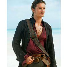 Orlando Bloom en Piratas del Caribe.... wow que pirata :)