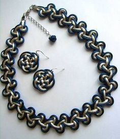 Chinese Knot Jewelry set (necklace/bracelet with earring) - JEWELRY AND TRINKETS