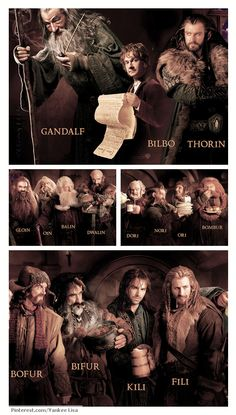 Can't remember the names of all those dwarves?  Here's the perfect cheat-sheet!