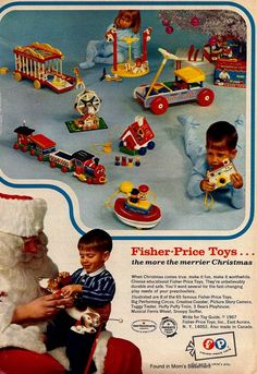 This is when you could trust the quality and safety of Fisher-Price...toys weren't made in China