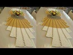 Crochet Vest Pattern, Crochet Motif, Crochet Designs, Crochet Doilies, Crochet Patterns, Lace Table Runners, Crochet Table Runner, Doily Patterns, Applique Patterns