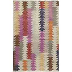You'll love the Marianne Hand-Woven Gray/Pink/Blue Area Rug at Wayfair - Great Deals on all Rugs products with Free Shipping on most stuff, even the big stuff.