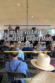 Thinking about visiting an Amish Mud Sale in Lancaster County, PA? Find out what they are like, & how to bid on items at this unique event. Pennsylvania Dutch Country, Lancaster Pennsylvania, Lancaster County, Amish Country, Amish Culture, Cumberland County, Franklin County, Mud, Dutch Recipes