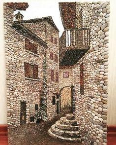 #mozaika #mozaik #tablo #pebbleart #pebblemosaic #çakıltaşı #çakıl #taş#taşsokak #italy