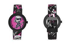 KARL LAGERFELD Karl Pop Guitar Watch, 40mm