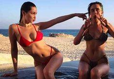 Watch! Hot Bikini Girls in Red -