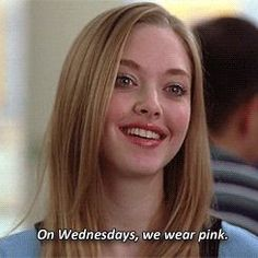 GIF-Filme Mean Girls Regina George Cady Heron Karen Smith Gretchen Weiners - ↬ writings - Theater Regina George, Karen Mean Girls, Mean Girls Movie, Mean Girls Outfits, Clingy Girlfriend, Girlfriend Meme, Amanda Seyfried, Iconic Movies, Good Movies