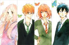 manga hibi chouchou | Hibi Chouchou~Suiren, Kawasumi, Koharu, Ryosuke by Sarabiecb97