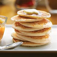 12 Perfect Pancake Recipes: Buttermilk-Pear Pancakes