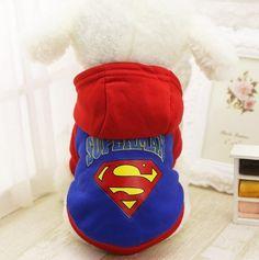 Superman Dog Hoodie