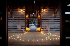 Wedding Proposal Decorating