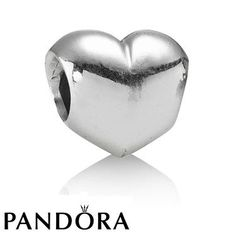 Pandora Black Friday 2015 Silver Heart Charm Clearance Deals PDR781351CZ