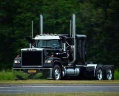Trucker Passions - The biggest trucks in the world. The body designs of these trucks are very cool and wow. Vintage Chevy Trucks, Chevy Trucks Older, Big Rig Trucks, Dump Trucks, Cool Trucks, Dually Trucks, Vintage Cars, Old Mack Trucks, Antique Trucks