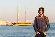 Batik & Jean Shirt www.hilosofia.com