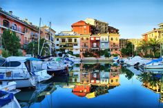 Known for its beaches, its unique buildings and its harbor, Port Saplaya has earned the tourist nickname Little Venice. Costa, Unique Buildings, Alicante, Venice, Spain, To Go, Places To Visit, Journey, Mansions