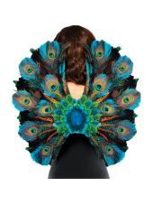 Peacock Feather Wings - Party City