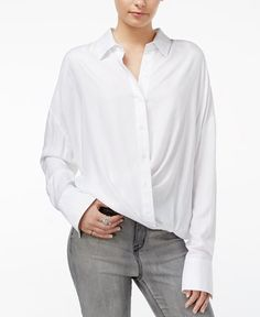 WILLIAM RAST Aster Cross-Front Shirt