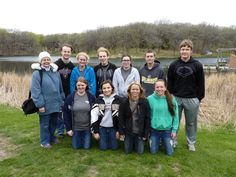 National Honor Society members from Louisville High School volunteer at the 7th annual Outdoor Education event involving over 1,000 4th and 5th graders at the Platte River State Park.