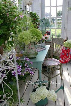 Our Little Conservatory   Aiken House & Gardens   Bloglovin'