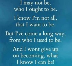I, ME, MYSELF......