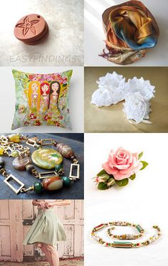 Soft trends for today by Rakhee on Etsy