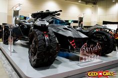 First Official Look at the Batman v Superman Batmobile + Arkham Knight Batmobile