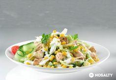 Csirkehúsos kukoricasaláta Salad Recipes, Healthy Recipes, Healthy Food, Risotto, Potato Salad, Meal Prep, Clean Eating, Food And Drink, Paleo
