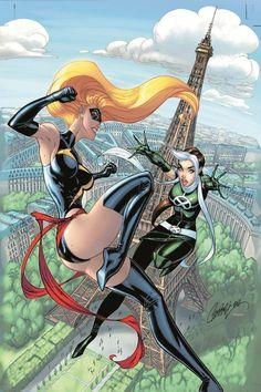 AVENGERS vs. X-MEN #3//J. Scott Campbell/C/ Comic Art Community GALLERY OF COMIC ART