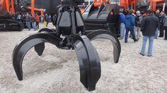 orange peel grapples - polipo idraulico da escavatore (Bauma 2013 - München; Fabrizio Panella)
