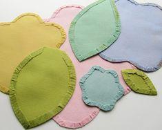 Tutorial: Appliqué Flower Power; tutorial de Victoria Gertenbach usando appliqués de flores para la creación de un tapete.