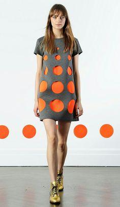 Платье с кружочками / Фотофорум / Burdastyle