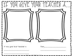 If You Give Your Teacher a