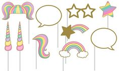 Sparkling Unicorn Party Supplies - Unicorn Birthday Party - Party City