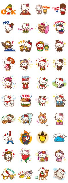 画像 - Hello Kitty Around the World by Sanrio - Line.me
