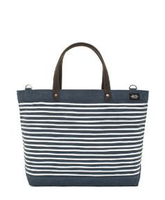I have a tote collection from Jack Spade.  I love this tote.