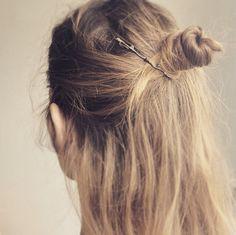Twig Hair Pin-Oxide Sterling silver Twig Hair by CyKLu on Etsy