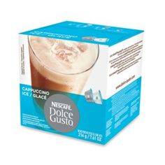Nescafe® 8-Count Dolce Gusto® Iced Cappuccino Capsules - BedBathandBeyond.com