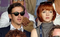 Former Downton Abbey star Dan Stevens and wife Susie Hariet