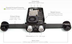 Parrot laat drones gemakkelijker binnenshuis navigeren met nieuwe kit  DeFranse dronefabrikant Pattor heeft een speciale development kit gemaakt om drones en andere robots te helpen bij het vermijden van obstakels als ze binnen zijn.Ontwikkelaars kunnen hiermee aan de slag maar zullen dat wel zelf voor de drone of robot moeten zorgen. De kit die de Parrot S.L.A.M.dunkheet bestaat namelijk echter uit sensoren en een computer  Aan de hand van een ultrasound sensor twee fisheye cameras een…