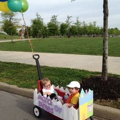 Stroller decorating- the movie UP