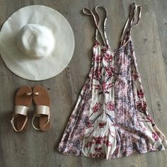 ✨ Host Pick ✨ Free People Romper Lightly used and in amazing condition! This romper is super cute! Perfect for the spring! Adjustable straps and ties on either side in the back!  Free People Pants Jumpsuits & Rompers