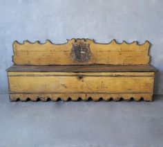 Chateau Domingue-Houston.  Late 17th C. -Early 18th C. Italian Bench.