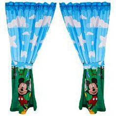 Merveilleux Amazon.com: Mickey Mouse Clubhouse Window Panels: $19.94   Eu0027s Big Boy  Room. Mickey Mouse CurtainsMickey ...