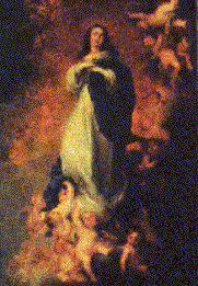 Inmaculada Concepción Arte Barroco Europeo