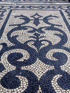Alfombra estilo moderno mosaico